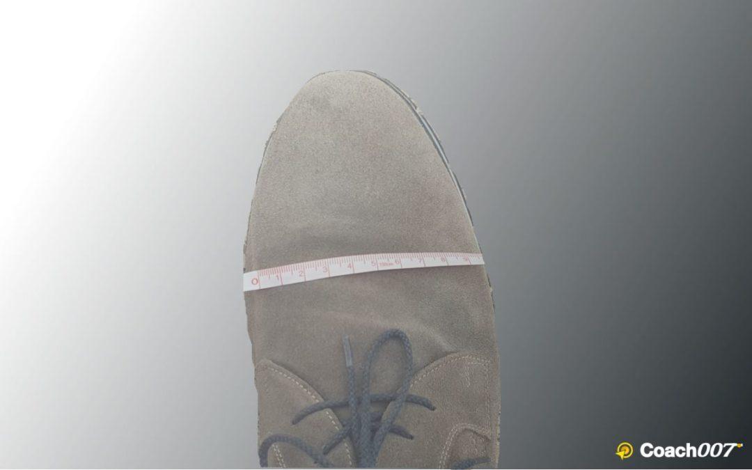 Sicherheit Dank großen Füßen?